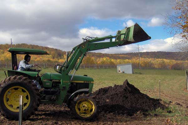 Compost in the Vineyard