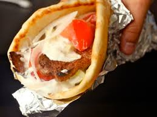GRILLED HERBED LAMB GYROS