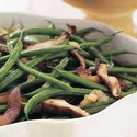 Green Beans with Shiitake Mushrooms